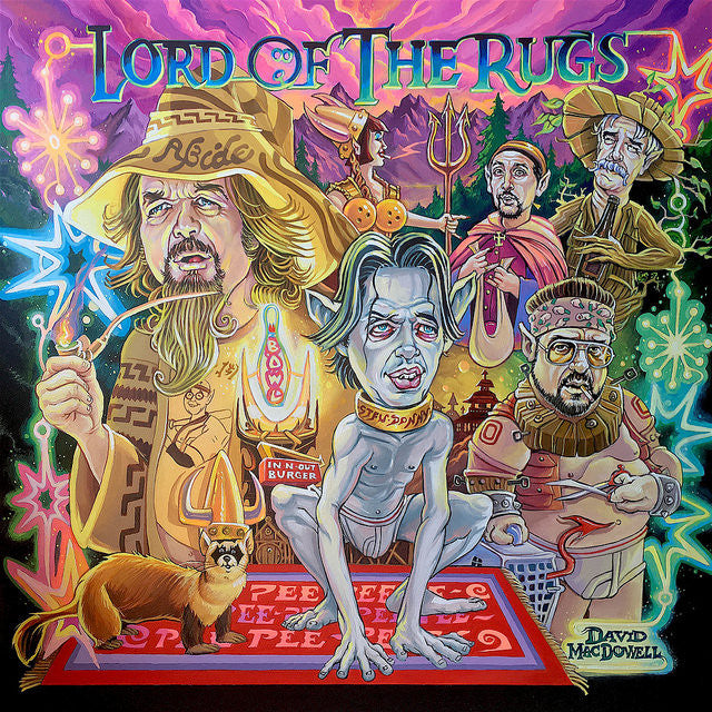 "Dave MacDowell - ""Lord of the Rugs"" - Spoke Art"