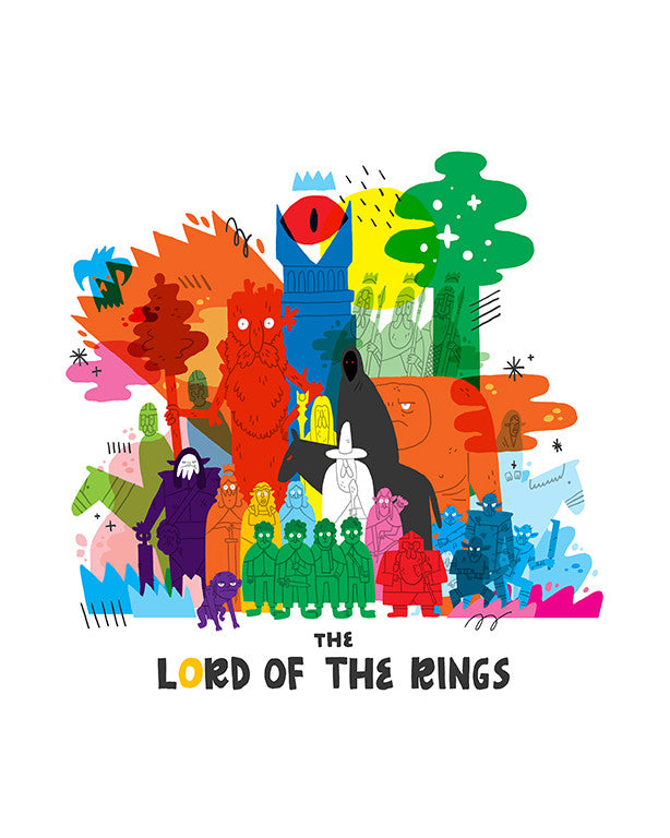 "Nick Stokes - ""Lord of the Coloring"" - Spoke Art"