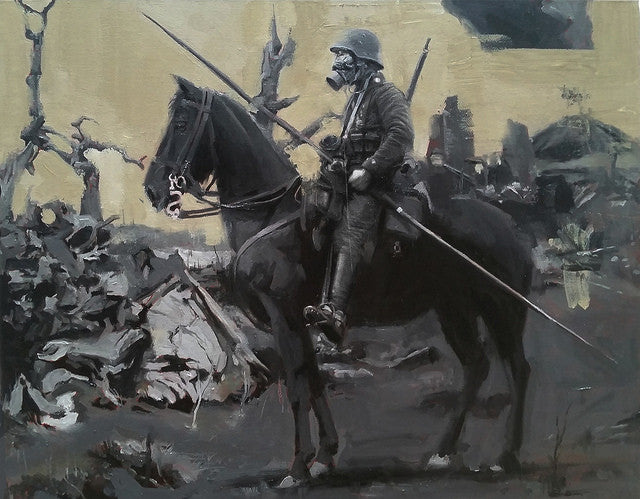 "Adam Caldwell - ""Mordor (Verdun) 1916"" - Spoke Art"