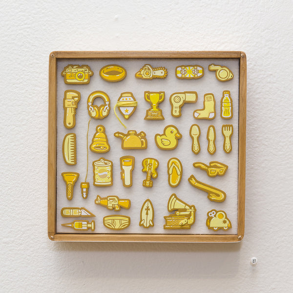 """Tiny Objects"" (Yellow)"