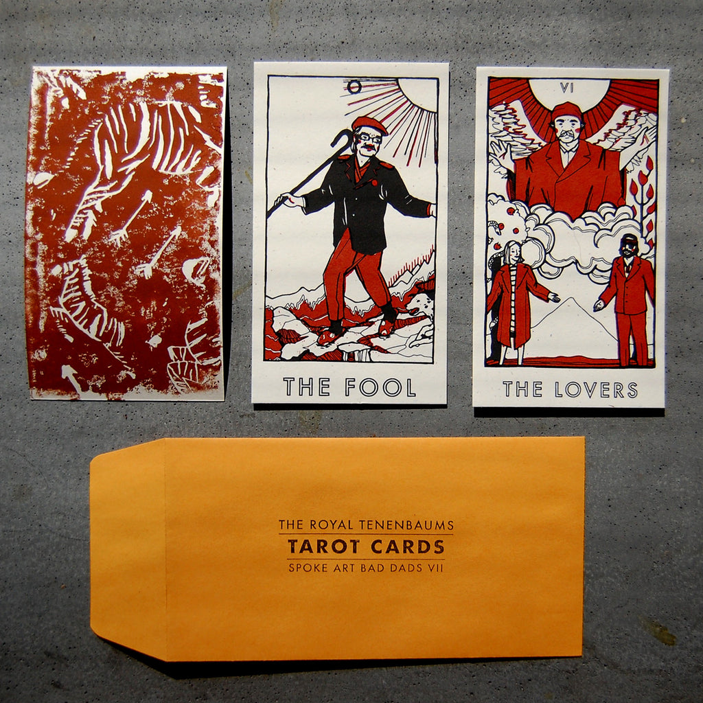 "Brighton Ballard - ""Royal Tenenbaums Tarot Set"""