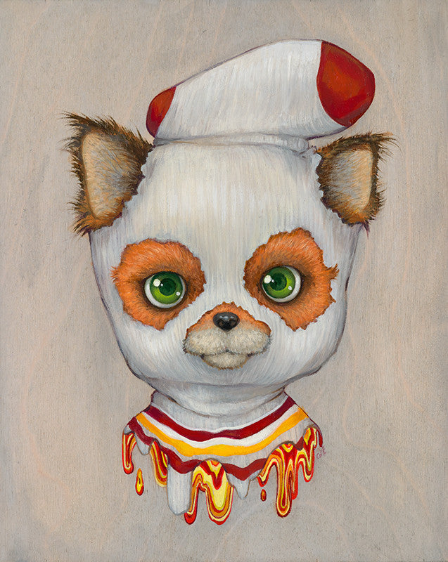 "Camilla d'Errico - ""The Sock Bandit"" - Spoke Art"