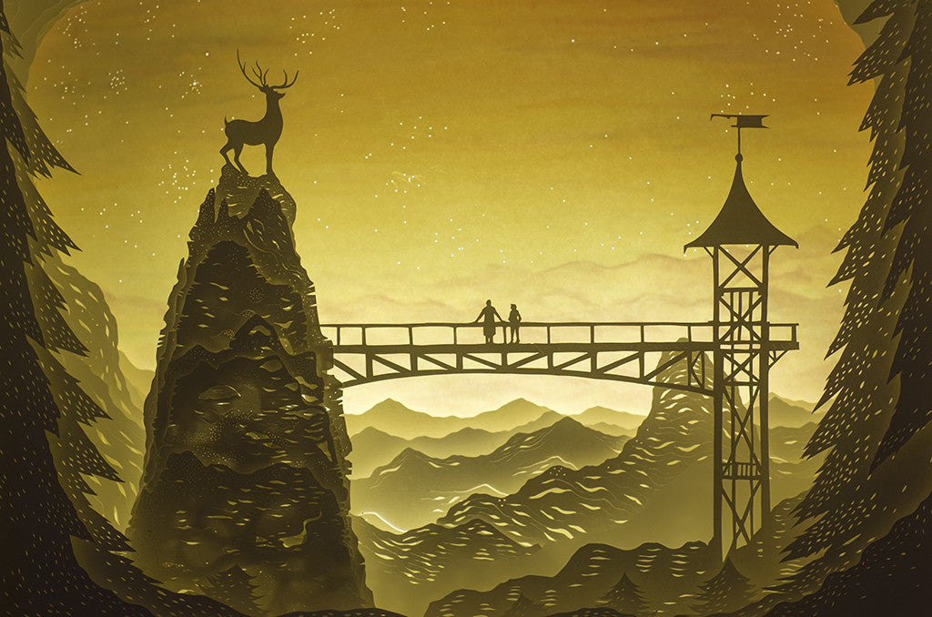 "Hari & Deepti - ""The Stag's Leap"" - Spoke Art"