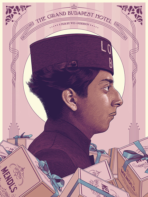 "Guillaume Morellec - ""The Grand Budapest Hotel"""