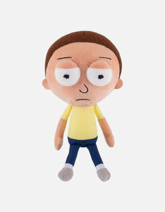 Rick and Morty Galatic Plushies: Squinting Morty - Spoke Art