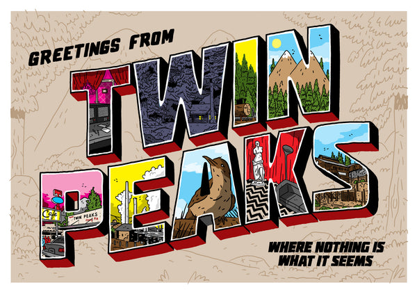 "Nick Stokes - ""Greetings from Twin Peaks"""