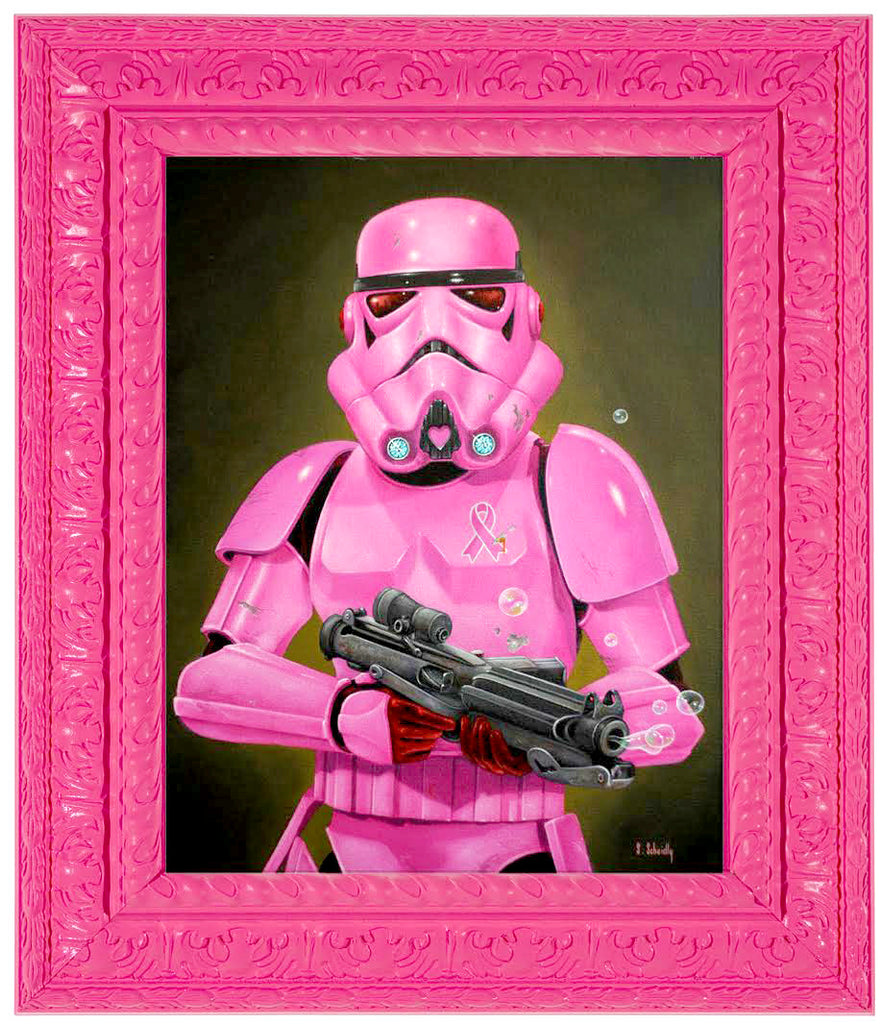 """Love Trooper"" - Spoke Art"