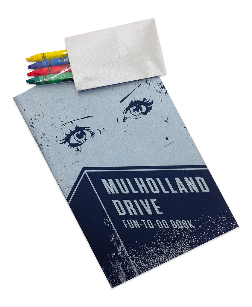 "Brighton Ballard - ""Mulholland Drive Fun-To-Do Activity Book"" - Spoke Art"