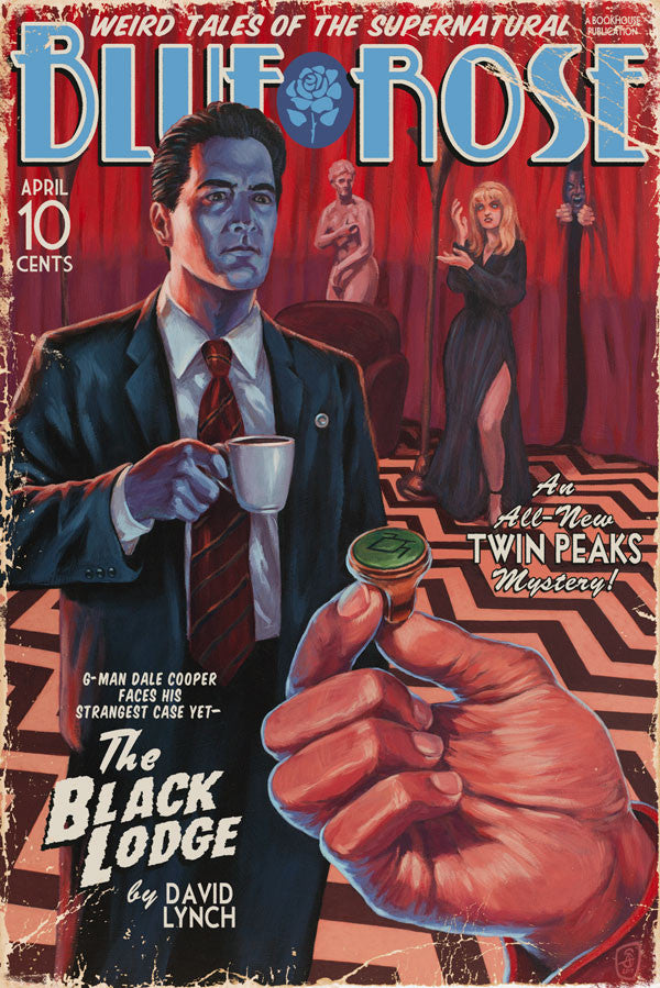 "Stephen Andrade - ""The Black Lodge (Vintage Pulp Edition)"""