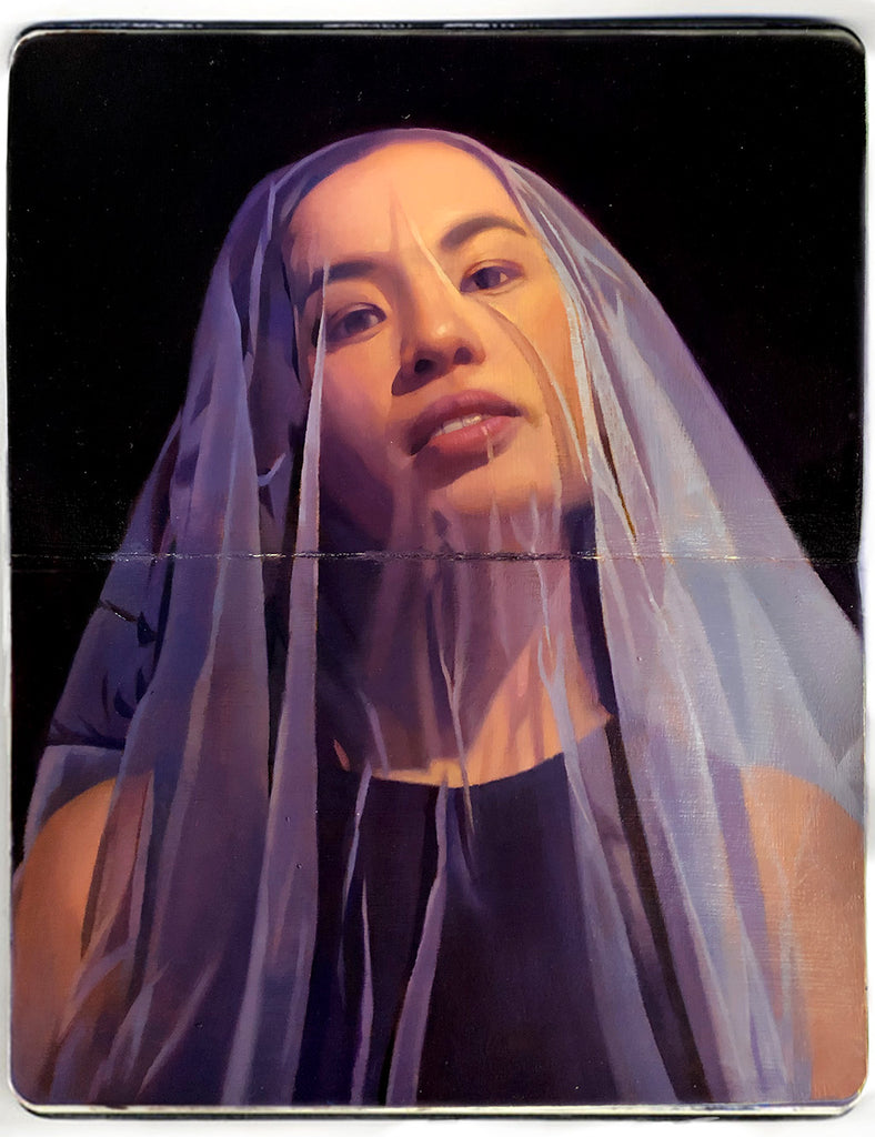 "Peter Chan - ""Veiled in Violet"" - Spoke Art"