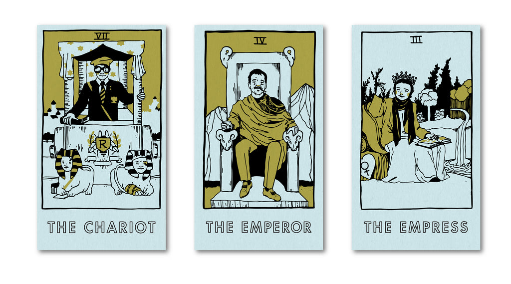 "Brighton Ballard - ""Rushmore Tarot Cards"" - Spoke Art"
