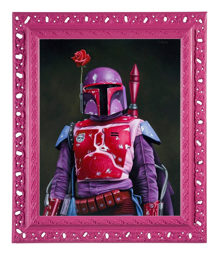 """Bobby Fett"" - Spoke Art"