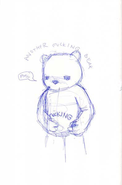"Luke Chueh - ""Another Fucking Bear"" - Spoke Art"