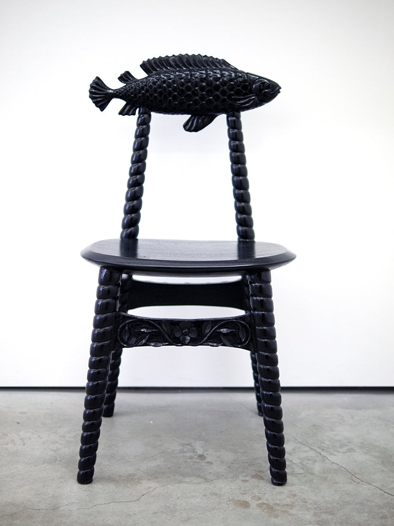 "Jayde Fish - ""Mrs. Fish Chair"""