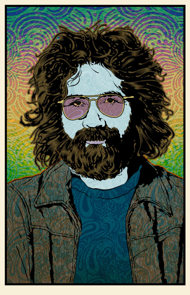 "Chuck Sperry - ""Jerry Garcia (Summer)"""