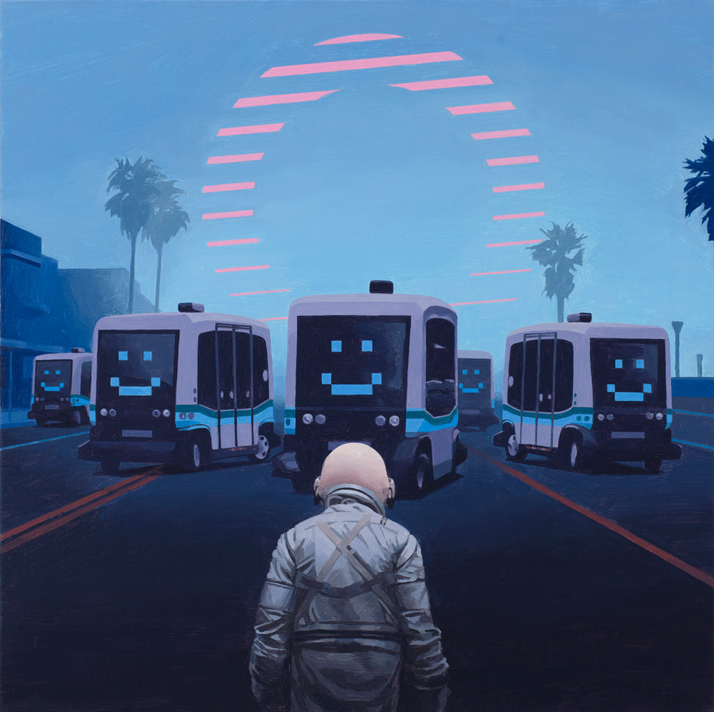 "Scott Listfield - ""Self Driving Buses"" - Spoke Art"