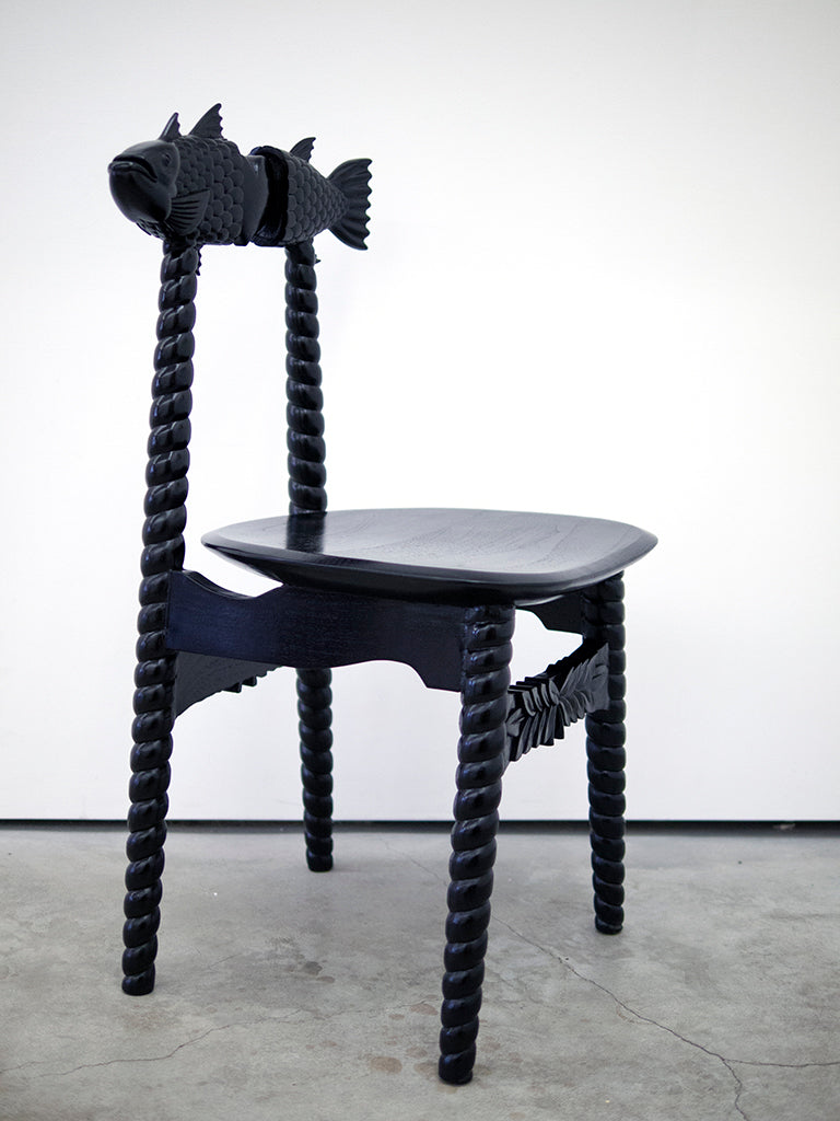 "Jeremy Fish - ""Mr. Fish Chair"""