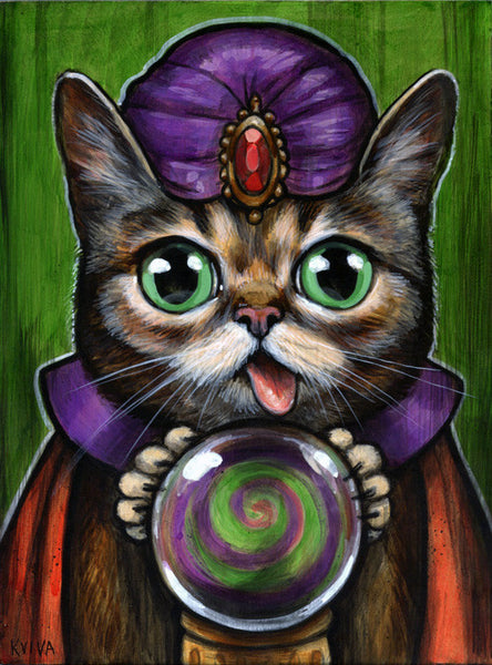 "Kelly Vivanco - ""The All-Seeing Lil' Bub"""