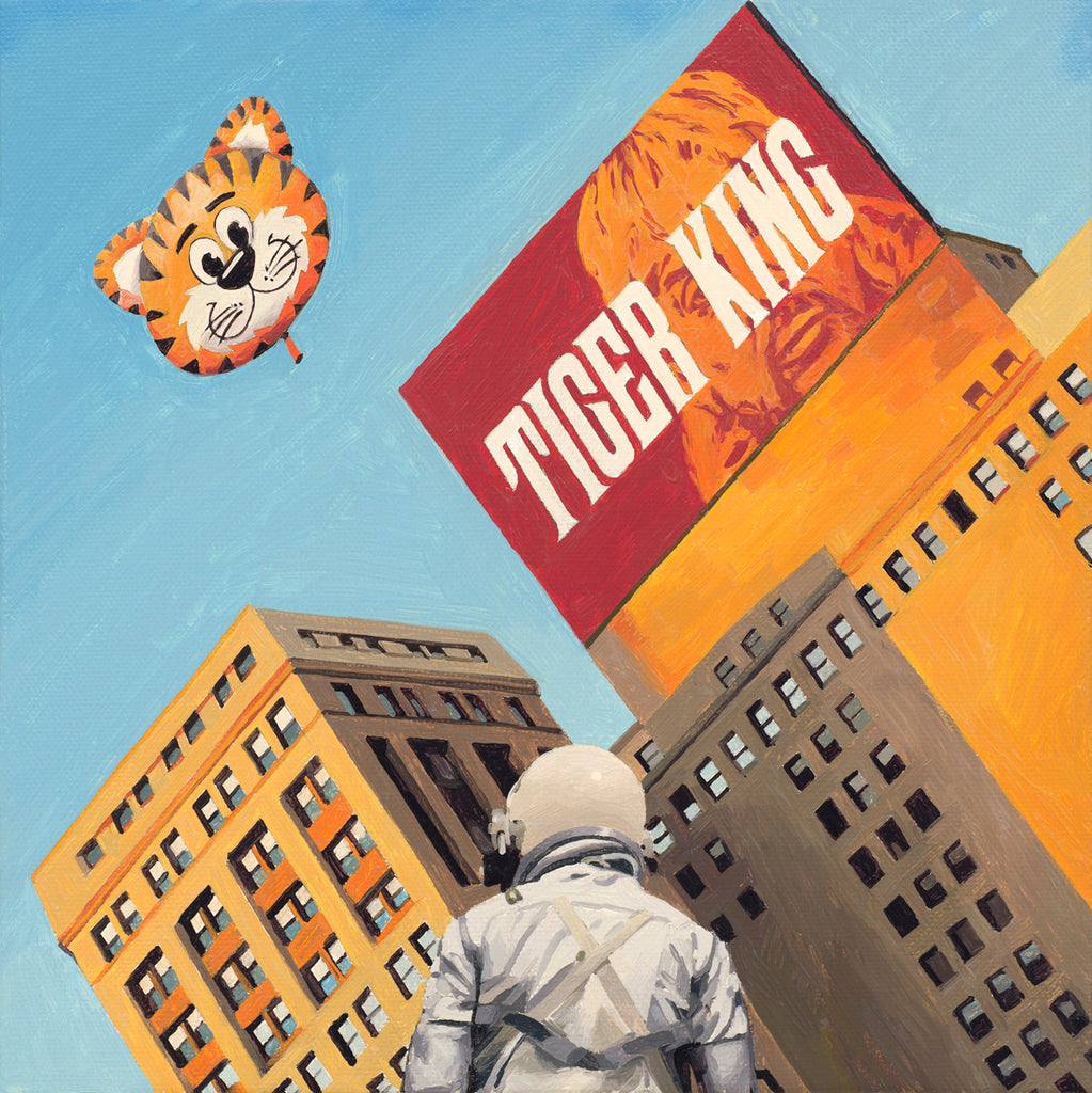 "Scott Listfield - ""Tiger King"" - Spoke Art"