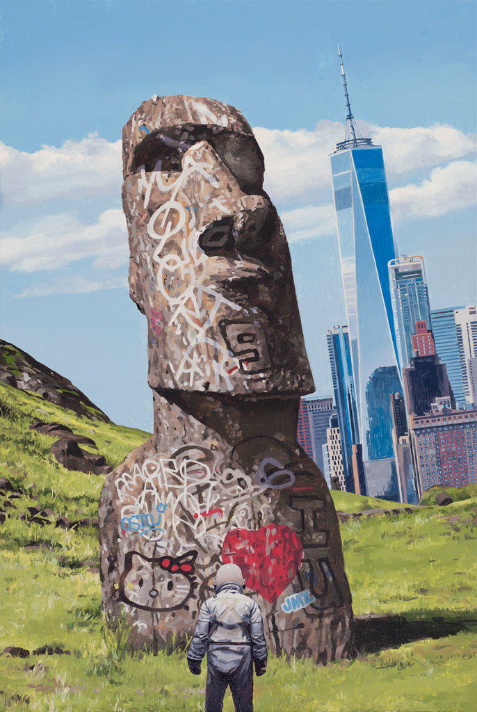 "Scott Listfield - ""Easter Island"" - Spoke Art"