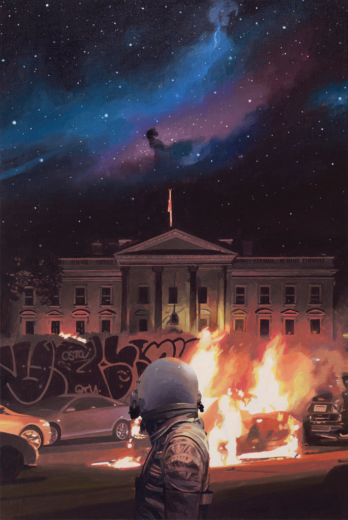 "Scott Listfield - ""White House"" - Spoke Art"