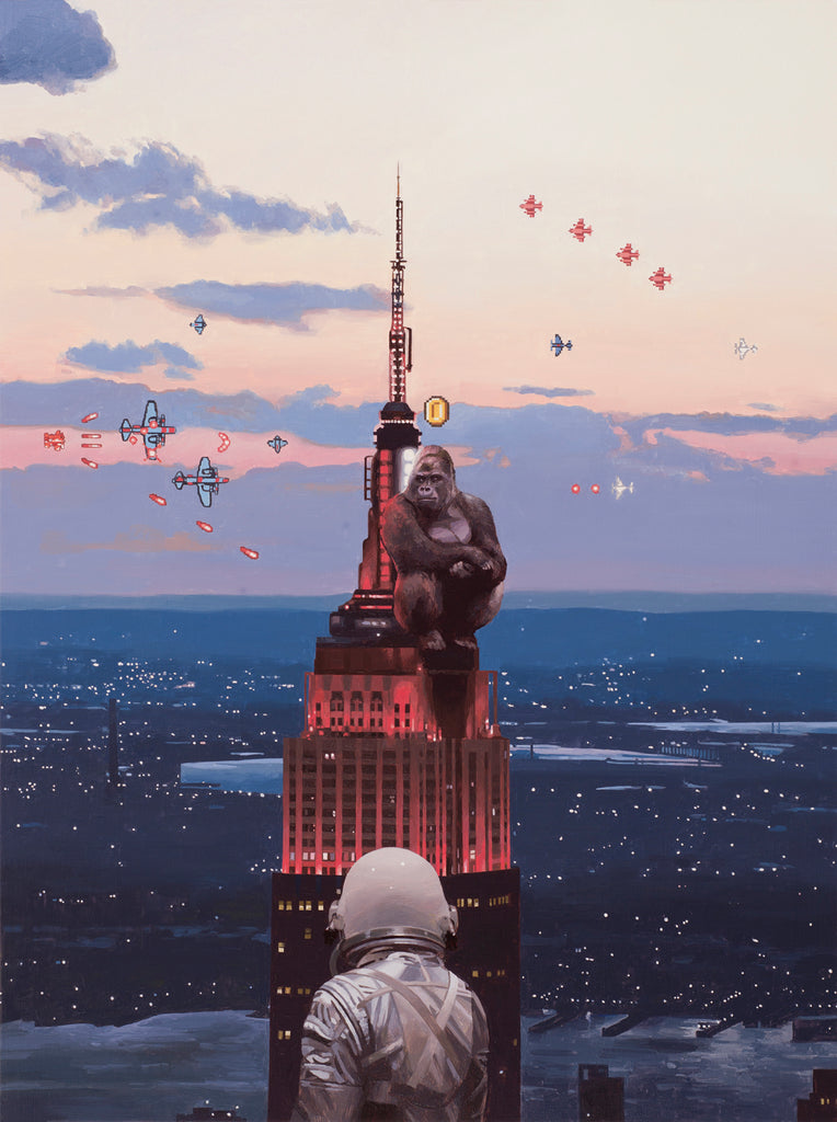 "Scott Listfield - ""Kong"" - Spoke Art"