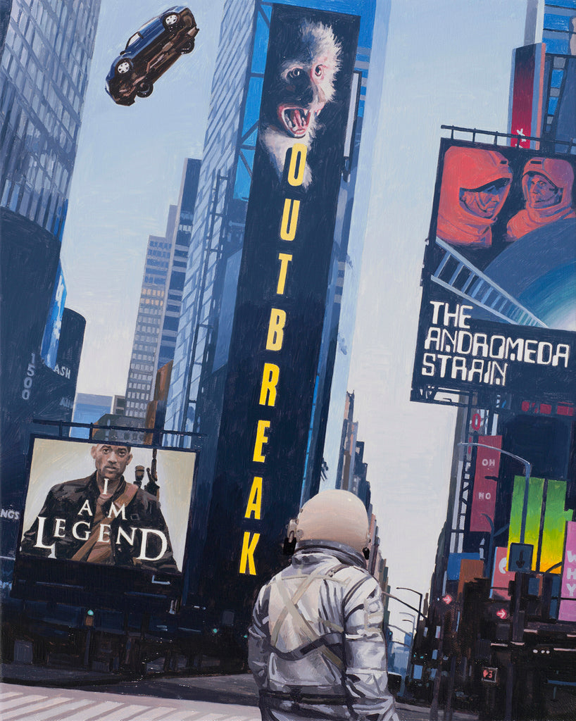 "Scott Listfield - ""Times Square"" - Spoke Art"