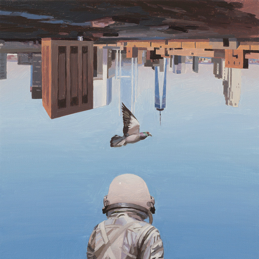"Scott Listfield - ""Pigeon"" - Spoke Art"