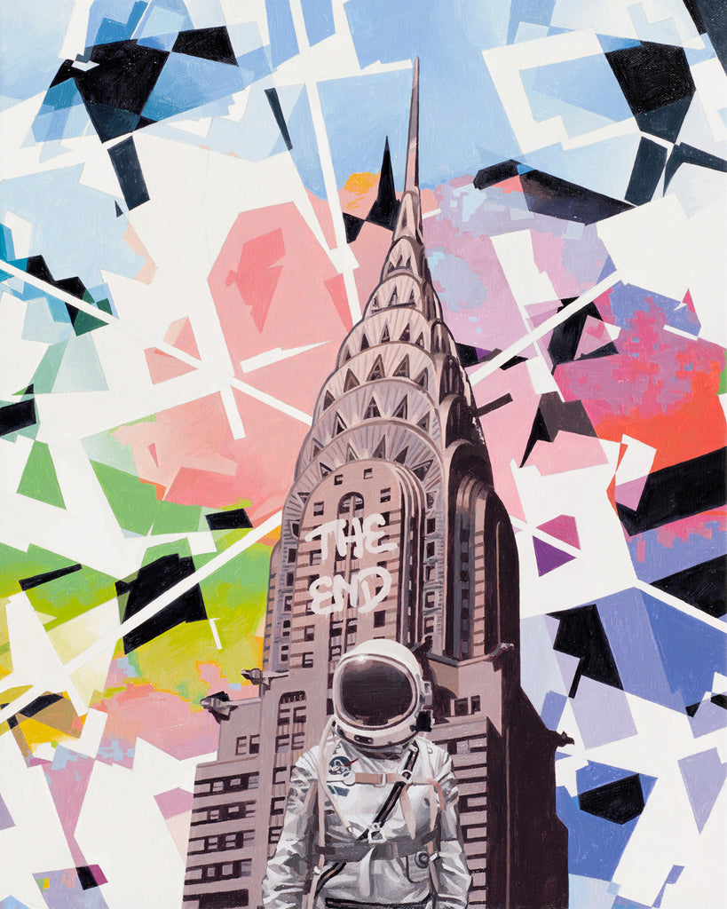 "Scott Listfield - ""Chrysler Building"" - Spoke Art"
