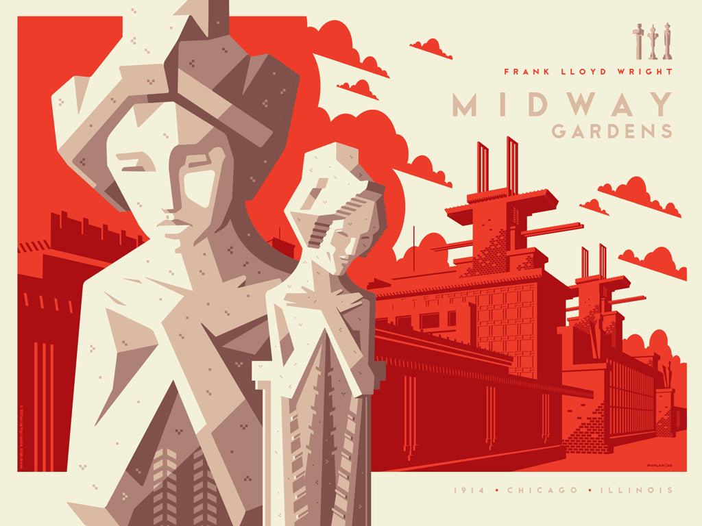 "Tom Whalen - ""Midway Gardens"" - Spoke Art"