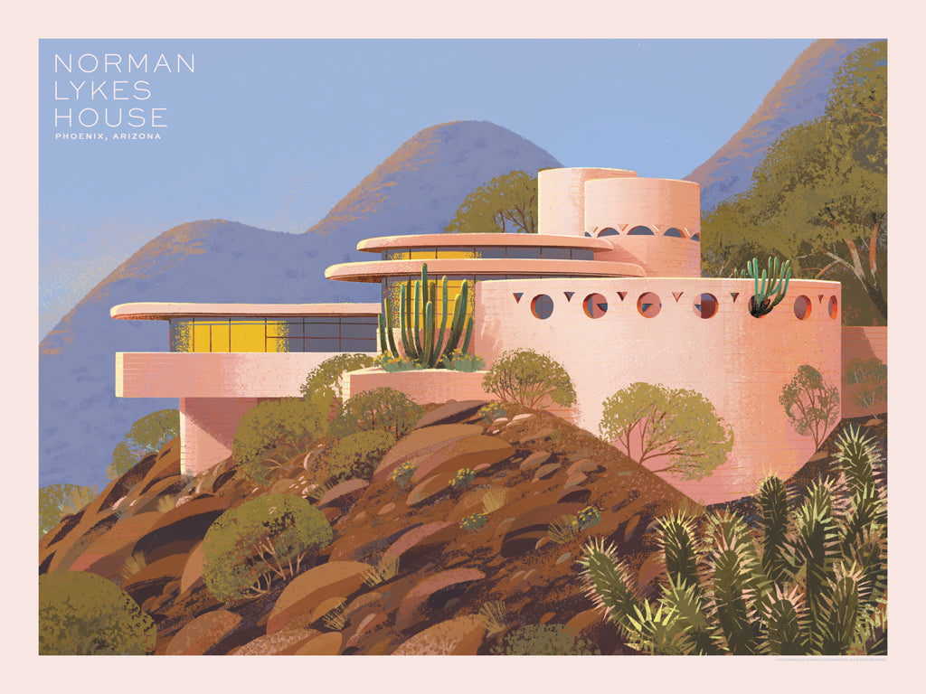 "Kim Smith  - ""Norman Lykes House"" - Spoke Art"