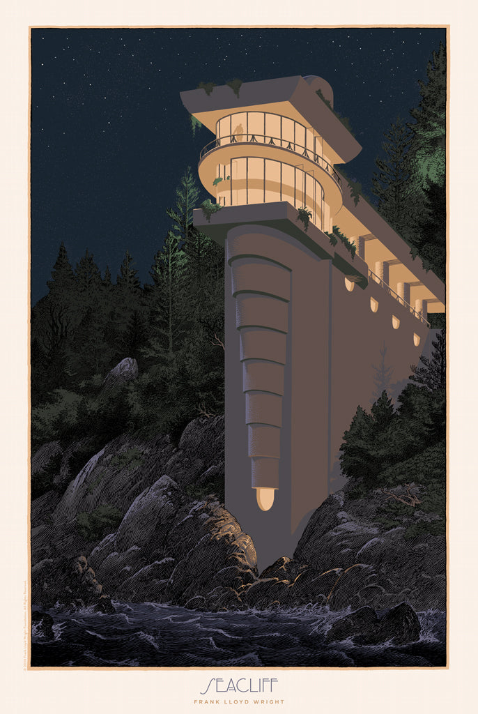 "François Schuiten  - ""VC Morris Sea Cliff"" - Spoke Art"