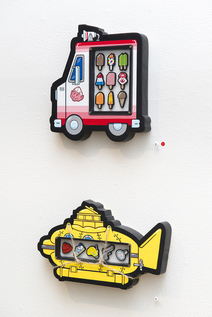"""Ice Cream Truck"" - Spoke Art"