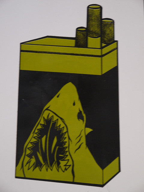 Shark Toof - Green Pack Print - Spoke Art
