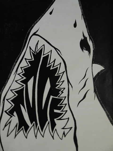 Shark Toof - Large Logo Print