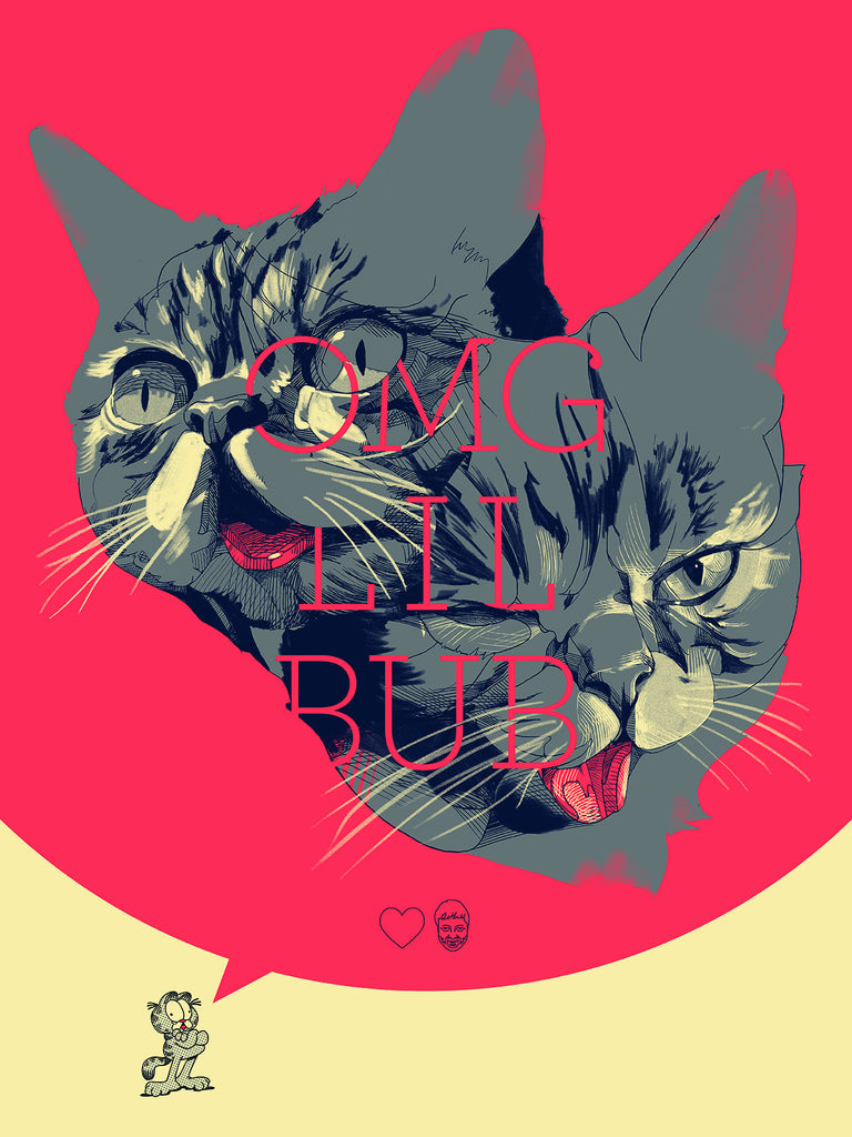 "Oliver Barrett - ""OMG LIL BUB"" - Spoke Art"