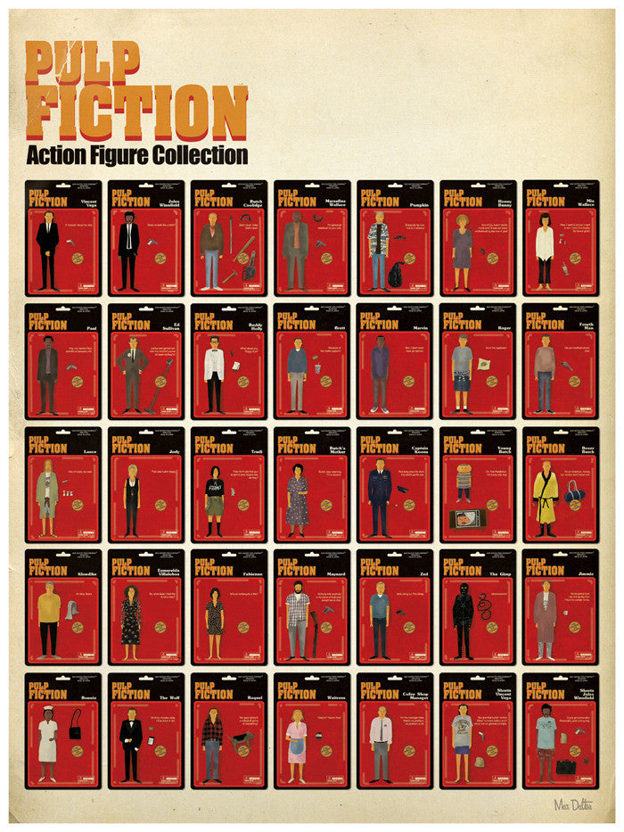"Max Dalton - ""Pulp Fiction Action Figure Collection"""