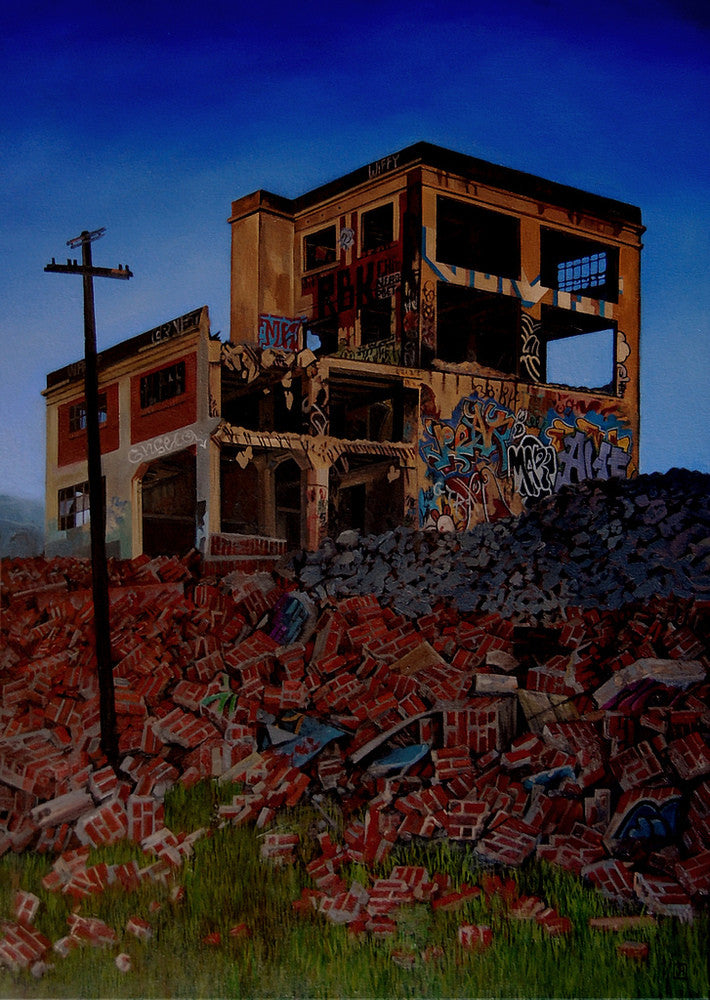 "Jessica Hess - ""Demolition Night"""