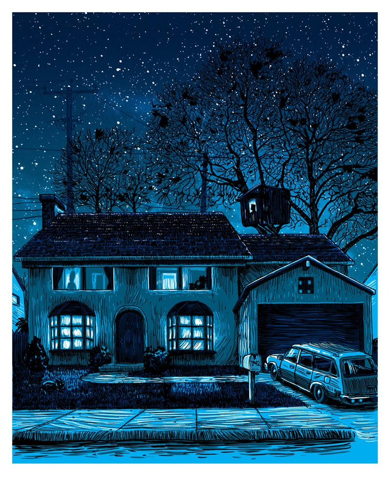 "Tim Doyle - ""742 Evergreen Terrace"" - Spoke Art"