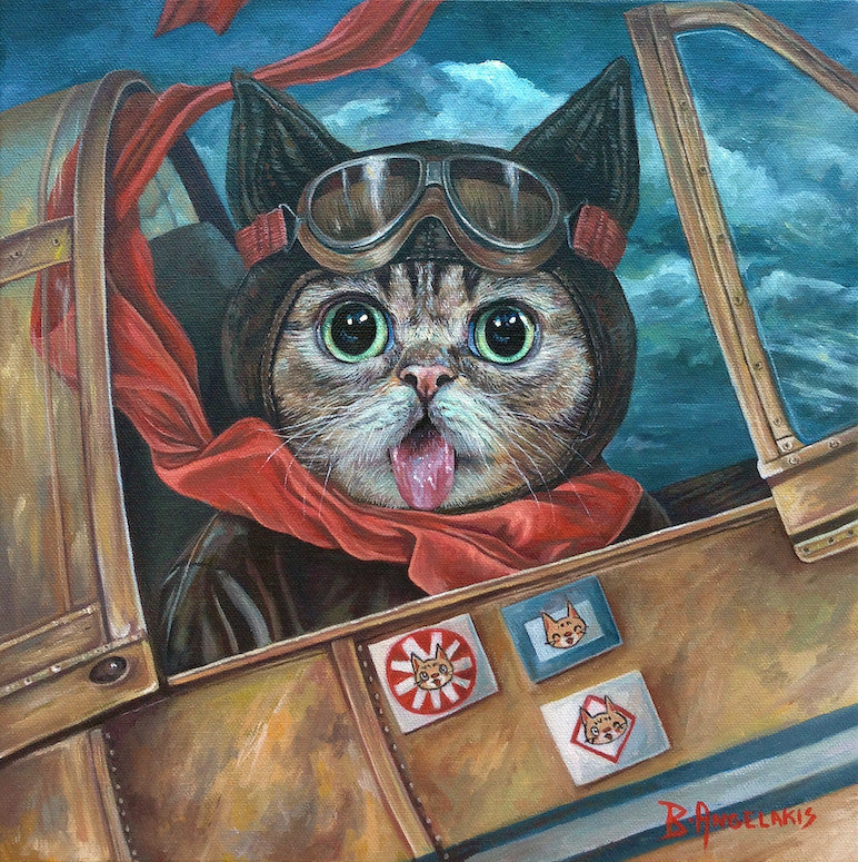 "Brianna Angelakis - ""Lil Bub Takes Flight"""