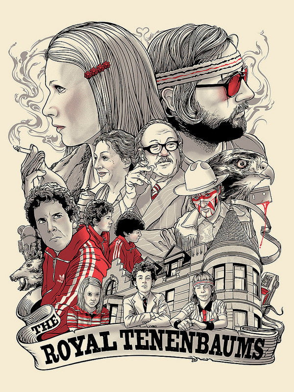 "Joshua Budich - ""The Royal Tenenbaums"""