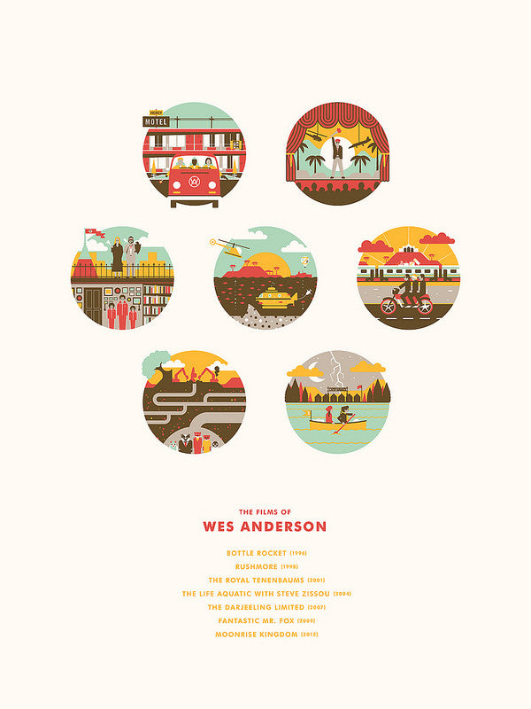 "DKNG - ""The Films of Wes Anderson"""