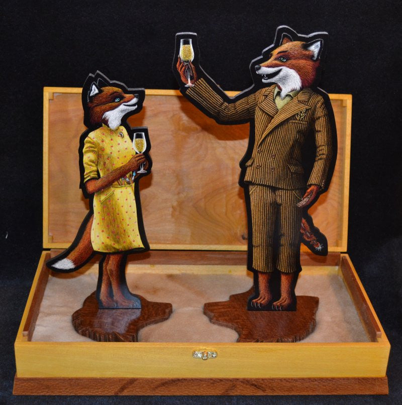 "Tapecat - ""Mr. and Mrs. Fox Action Figure Playset"""