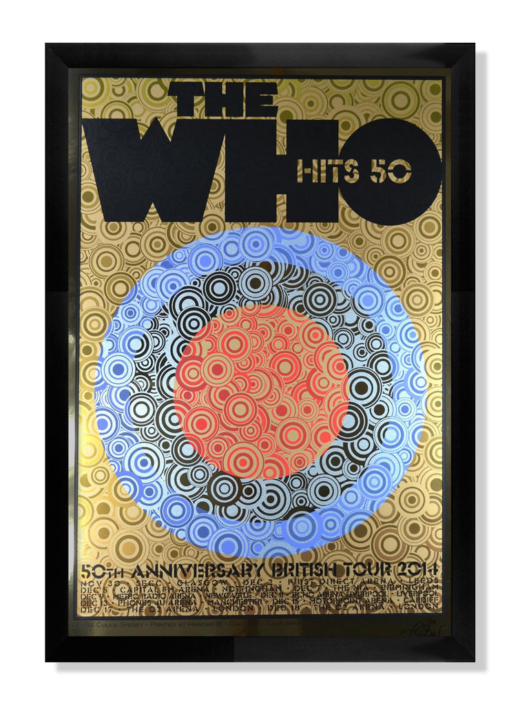 "Chuck Sperry - ""The Who, 50th Anniversary British Tour"" - Spoke Art"