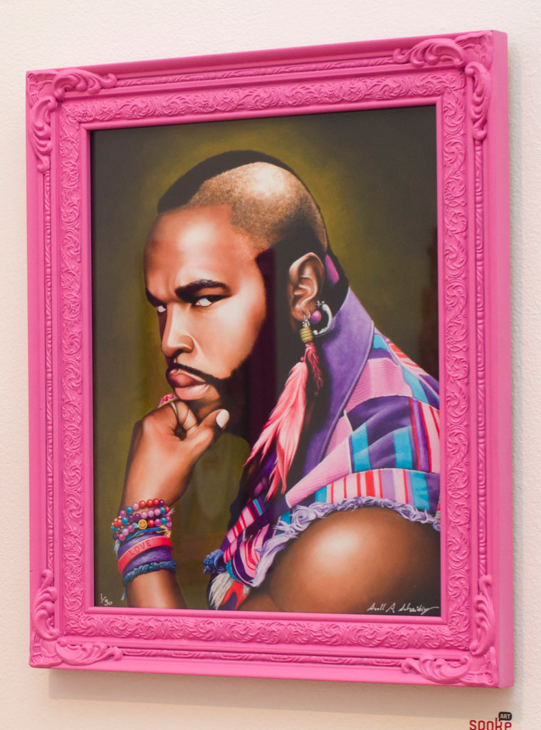 """Mr. T for Terrific"" Fine Art Print"