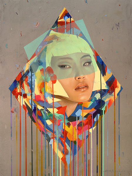 "Erik Jones - ""Diamond Color Form"""