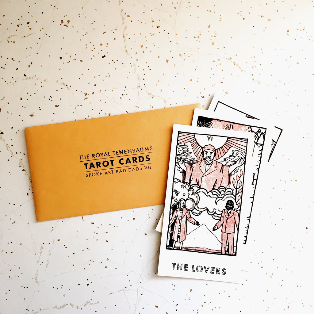 "Brighton Ballard - ""The Royal Tenenbaums Tarot Card Set"" - Spoke Art"