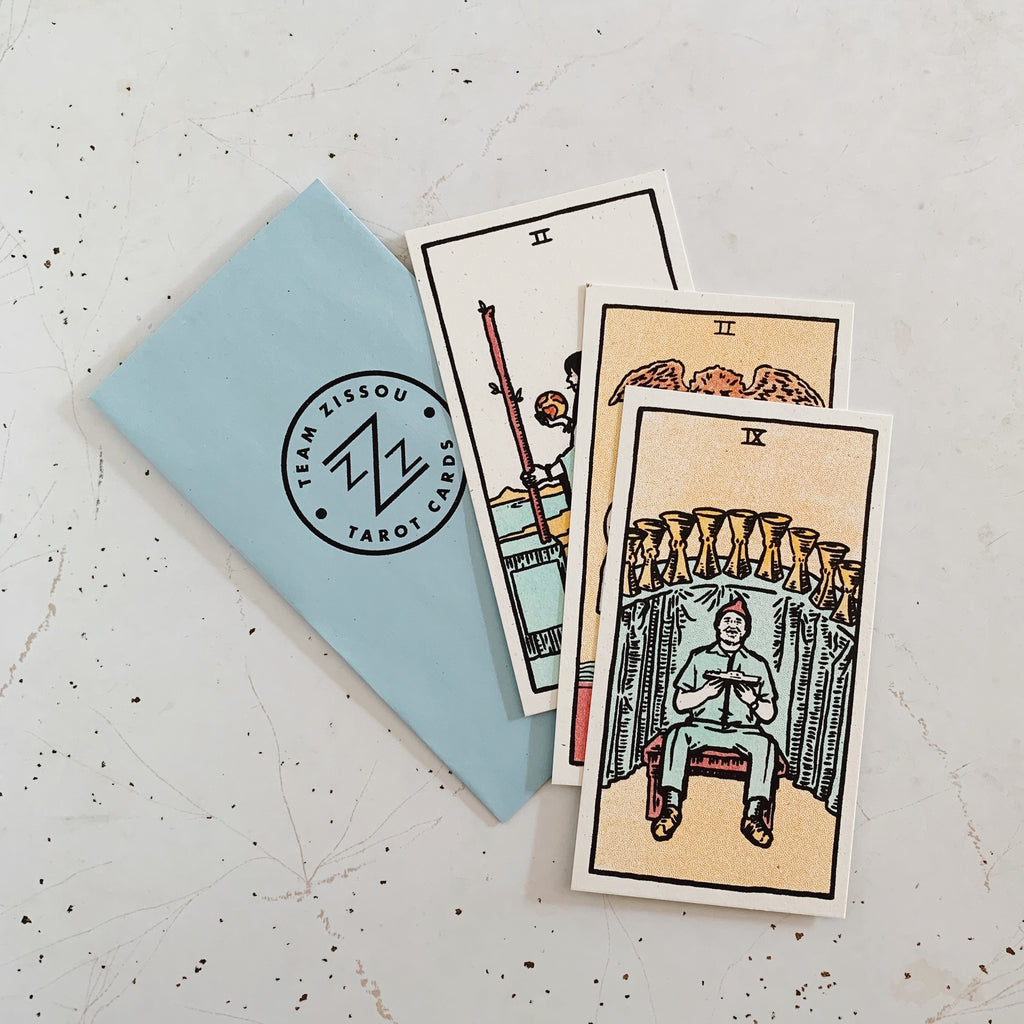 "Brighton Ballard - ""The Life Aquatic Tarot Card Set"" - Spoke Art"
