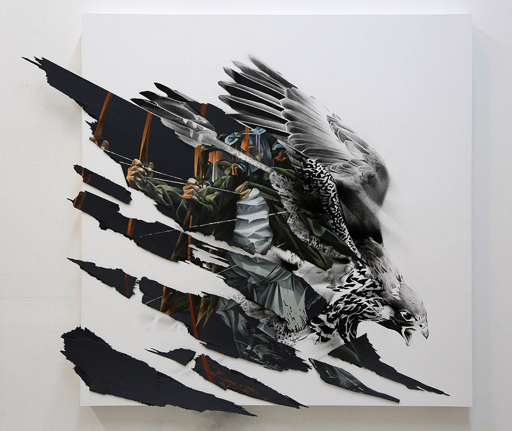 "Aaron Li-Hill - ""The Last Flight"" - Spoke Art"