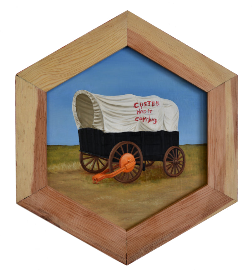 "Peter Adamyan - ""Abandoned Wagon"" - Spoke Art"
